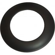 Rozet 130 mm - Zwart