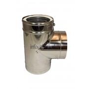 DW150/200mm T-stuk met dop
