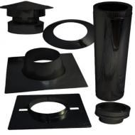 150 mm / 200 mm Zwart