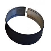 Klemband 200 mm Zwart