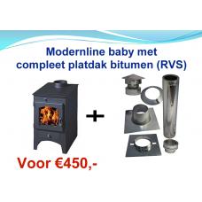 Modernline Baby houtkachel