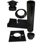 epdm platdak 150mm zwart