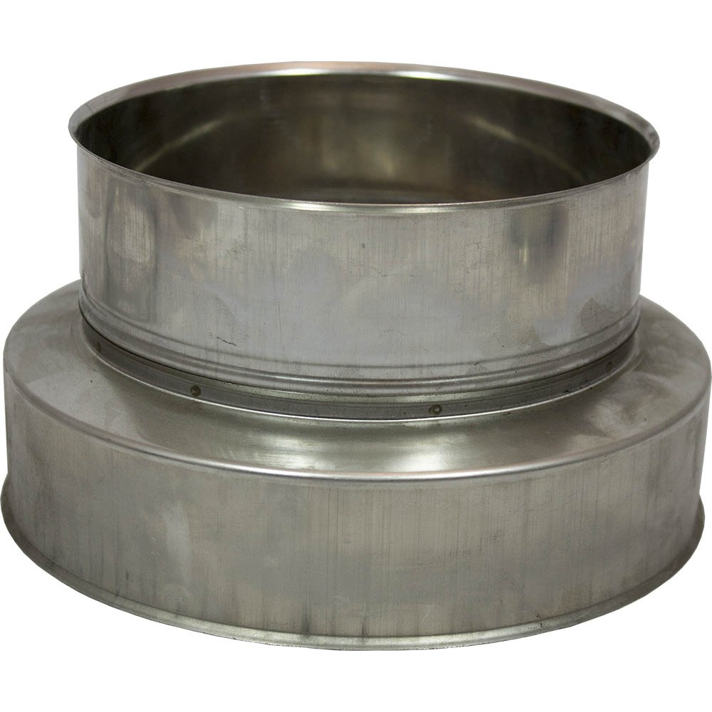 Holetherm 150 200 contra aansluitstuk for Kachelglas