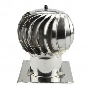 Turbowent draaikap 150 mm bodemplaat