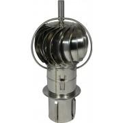 Turbowent draaikap 150 mm insteek met externe lager